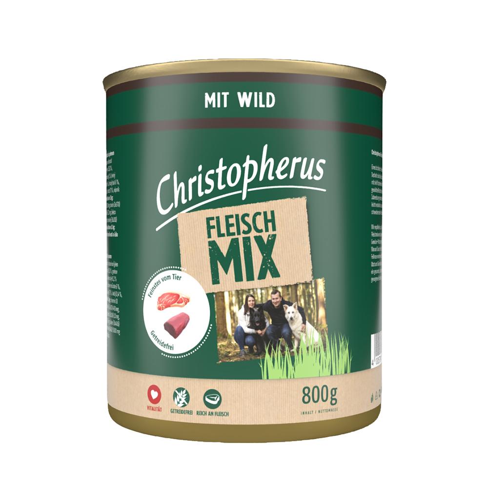 Christopherus – Fleischmix mit Wild (6er Pack)