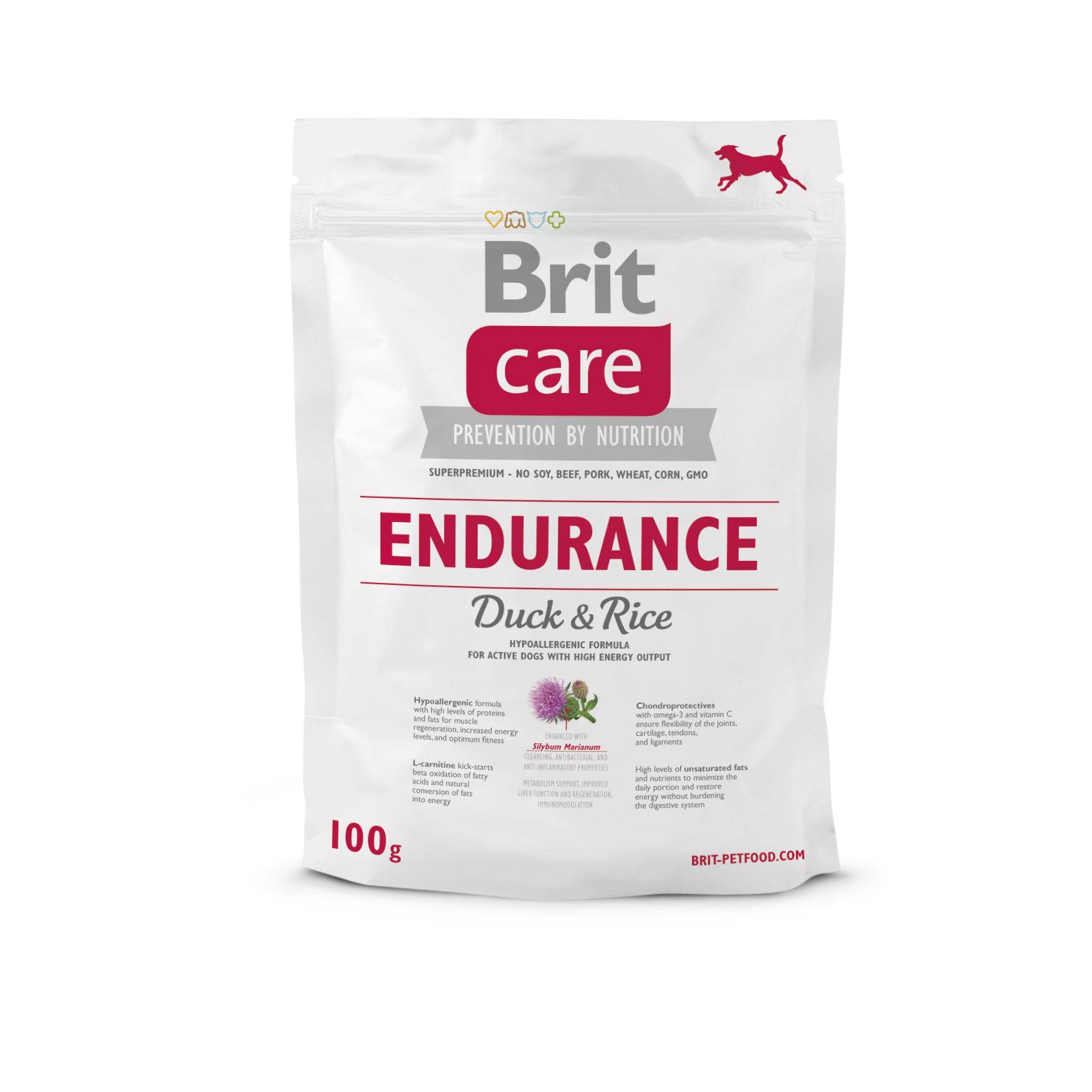 Probe Brit Care Dog - Endurance - Duck & Rice