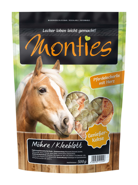 Monties - Möhre/Kleeblatt