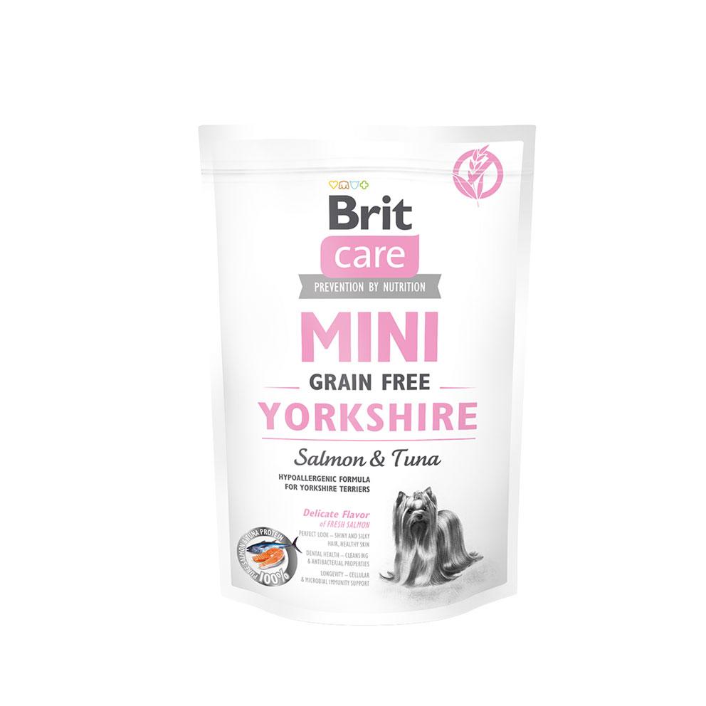 Probe Brit Care Mini - Grain Free Yorkshire Lachs und Thunfisch