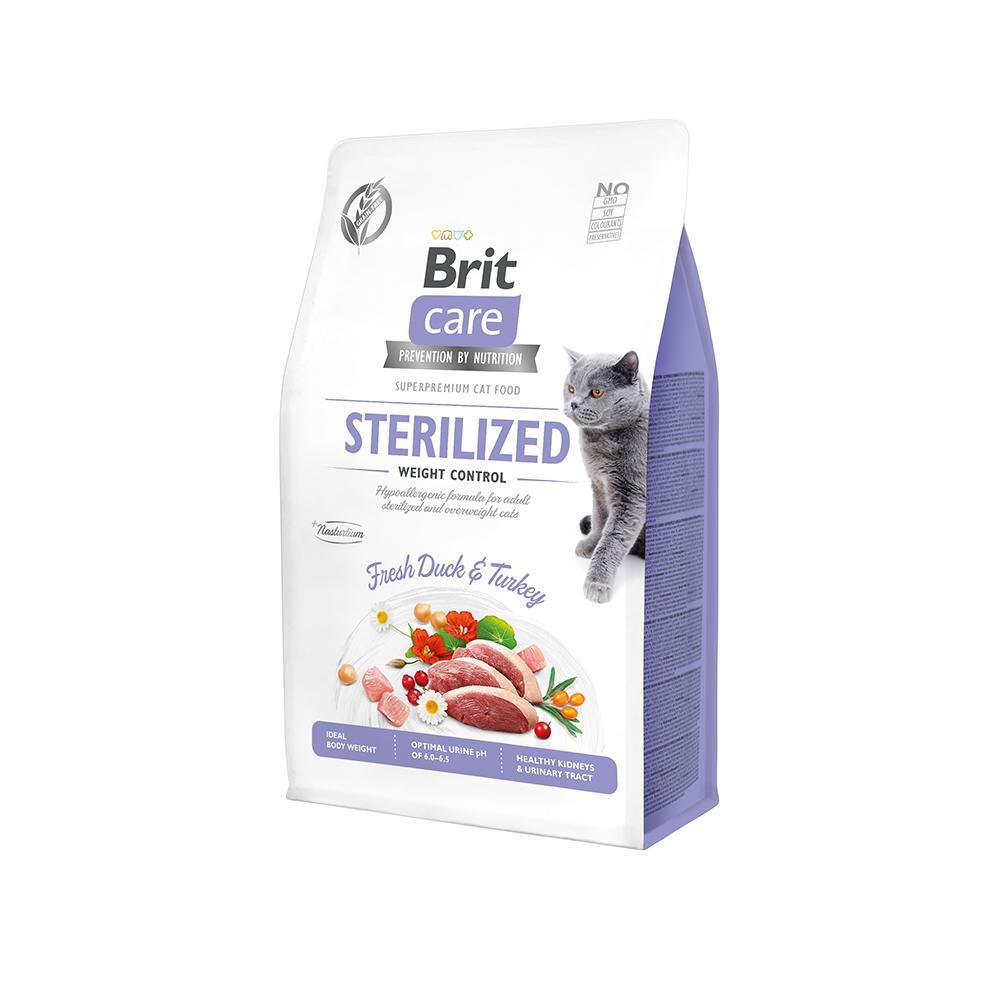 Brit Care Cat Grain-Free - Sterilized - Weight Control