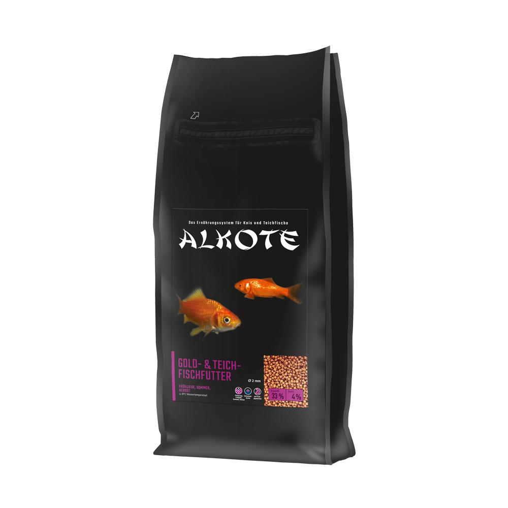 ALKOTE – Gold- und Teichfischfutter