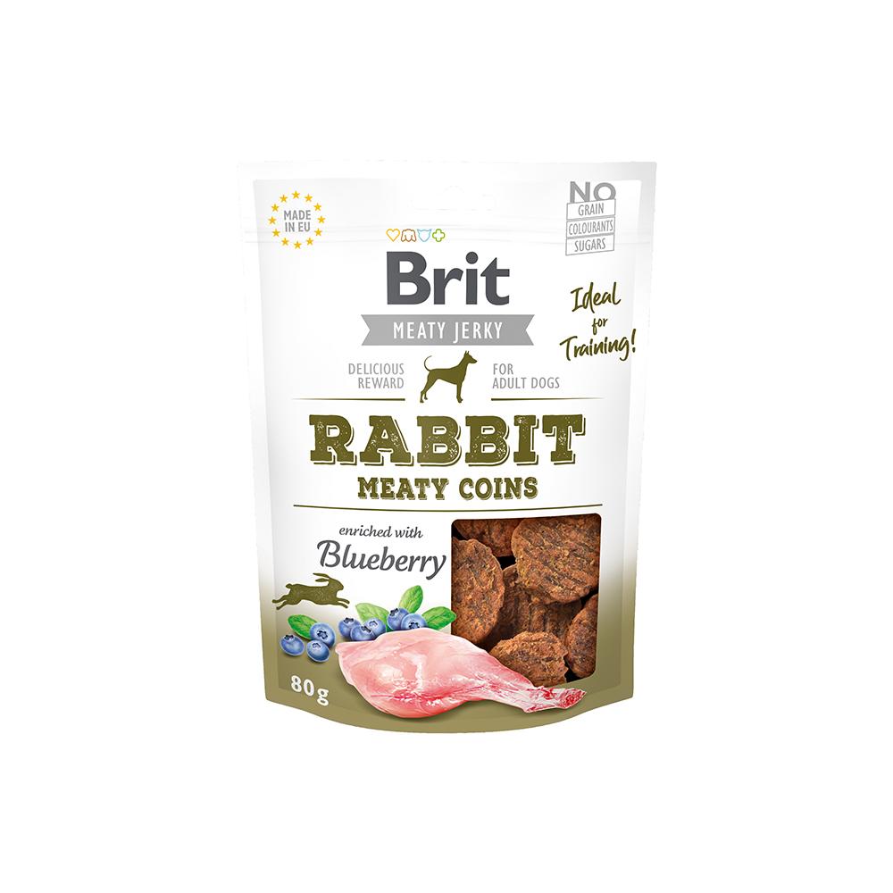 Brit Meaty Jerky - Rabbit - Meaty Coins