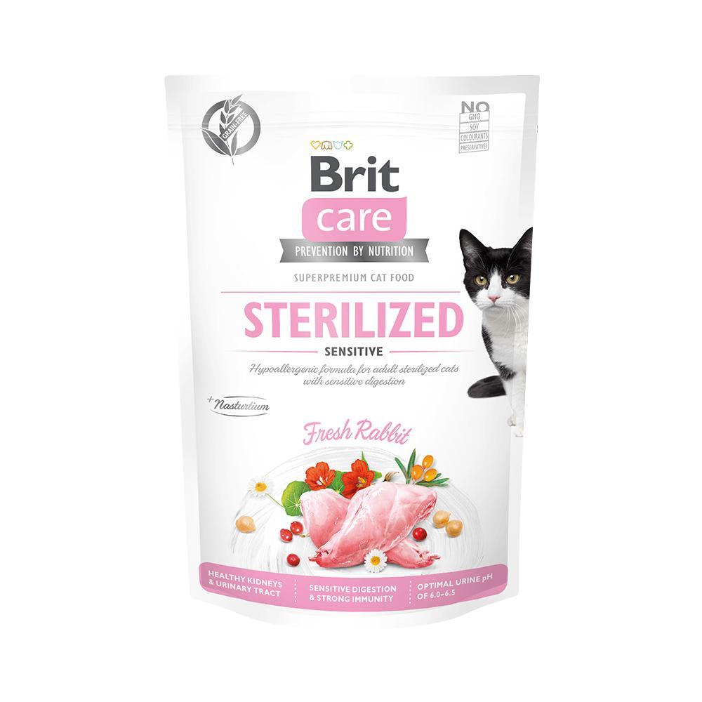 Probe Brit Care Cat Grain-Free - Sterilized - Sensitive