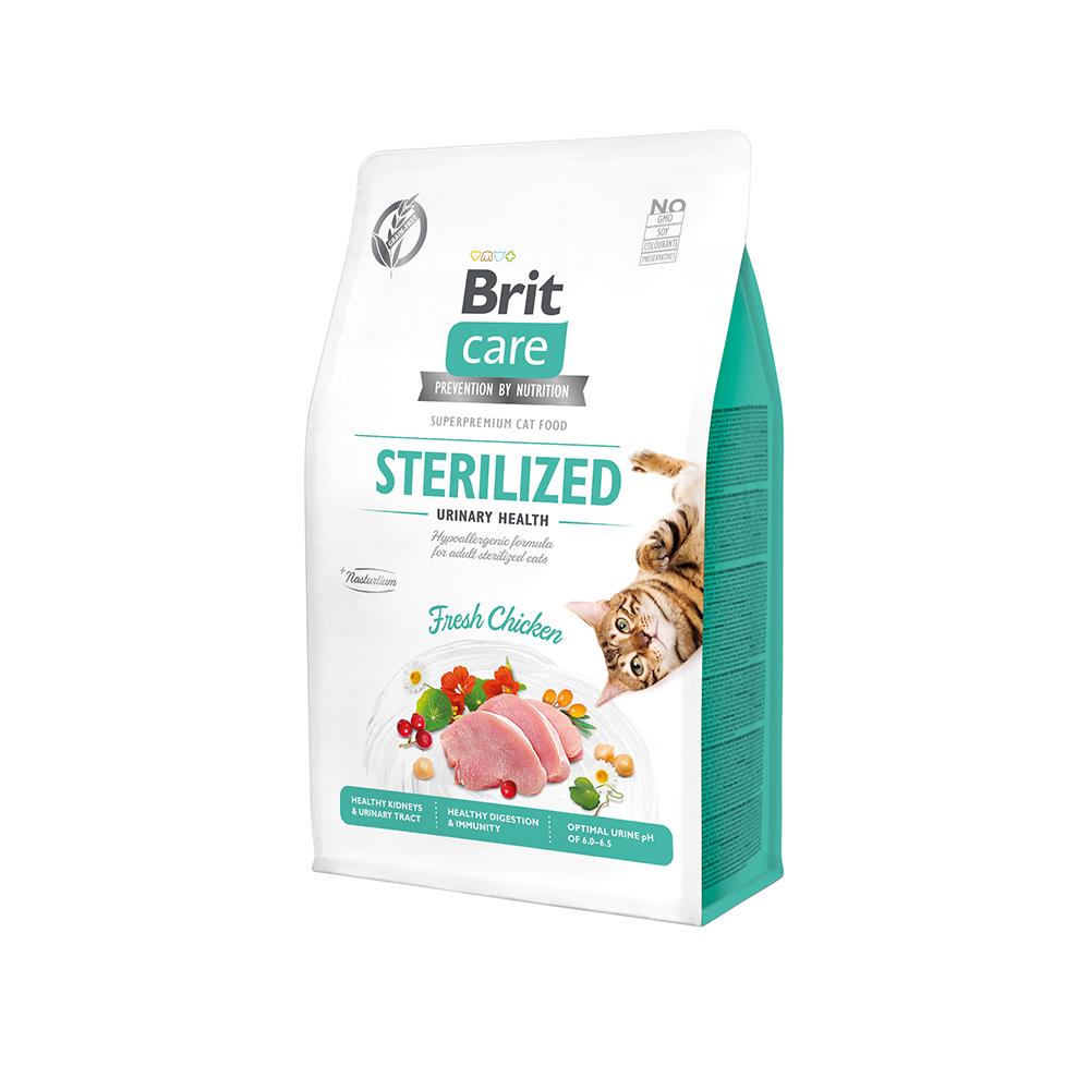Brit Care Cat Grain-Free - Sterilized - Urinary Health