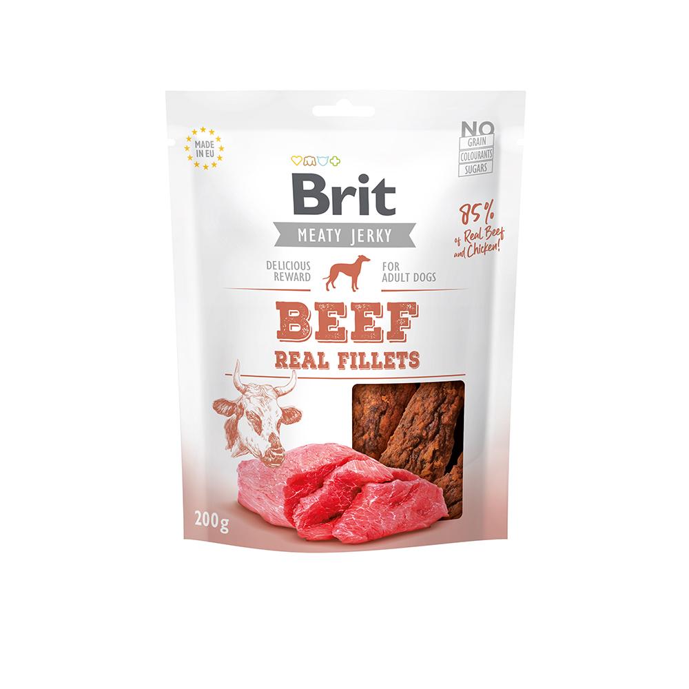 Brit Meaty Jerky - Beef Fillets