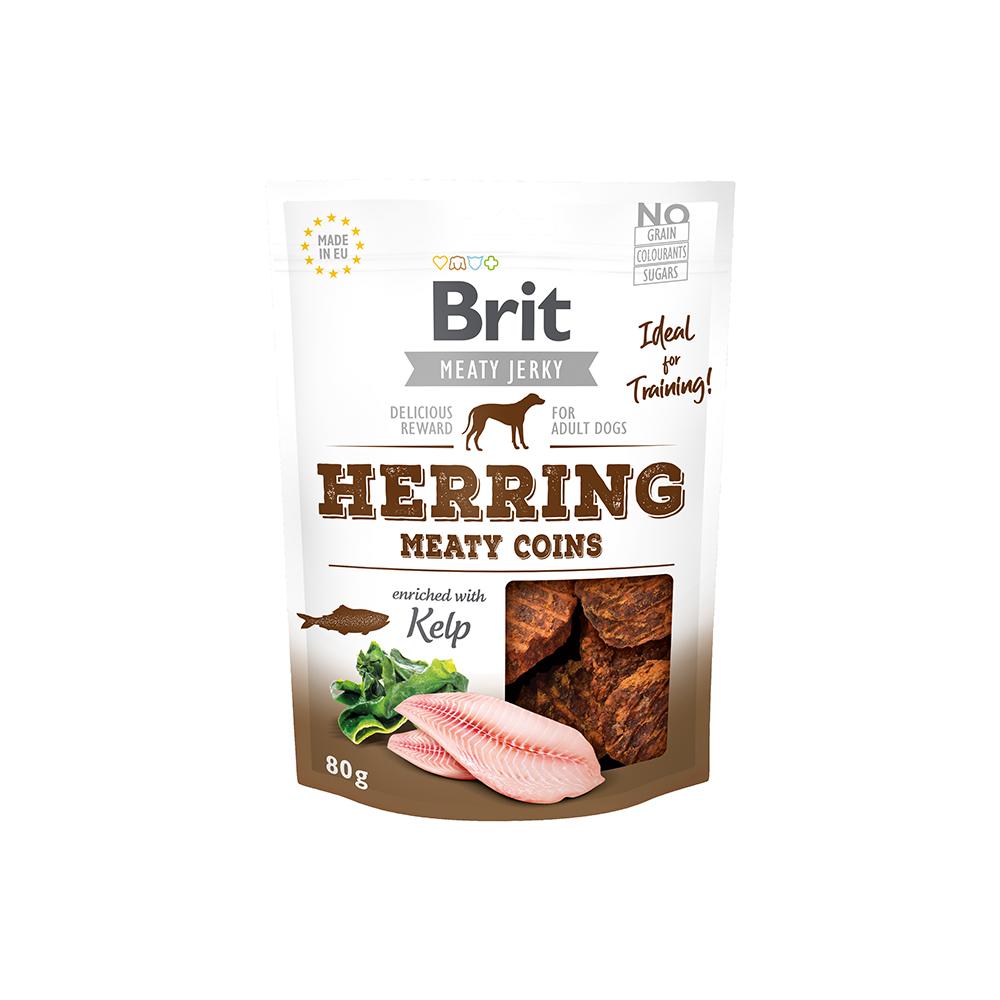 Brit Meaty Jerky - Herring - Meaty Coins