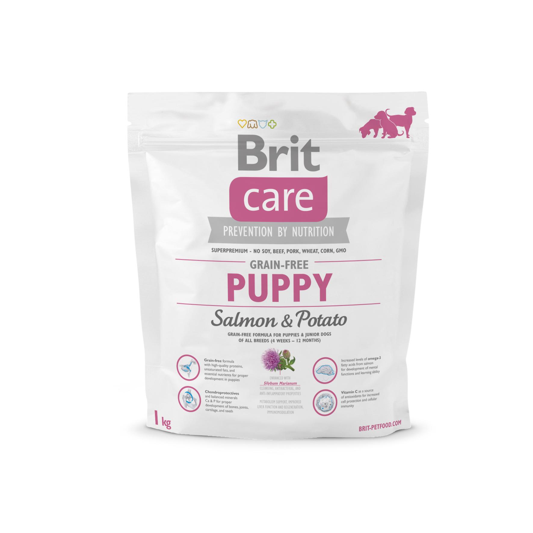 Brit Care Dog - Grain Free - Puppy - Salmon & Potato