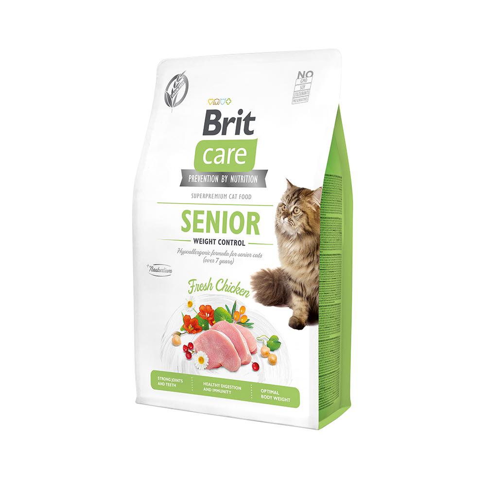 Brit Care Cat Grain-Free - Senior - Weight Control