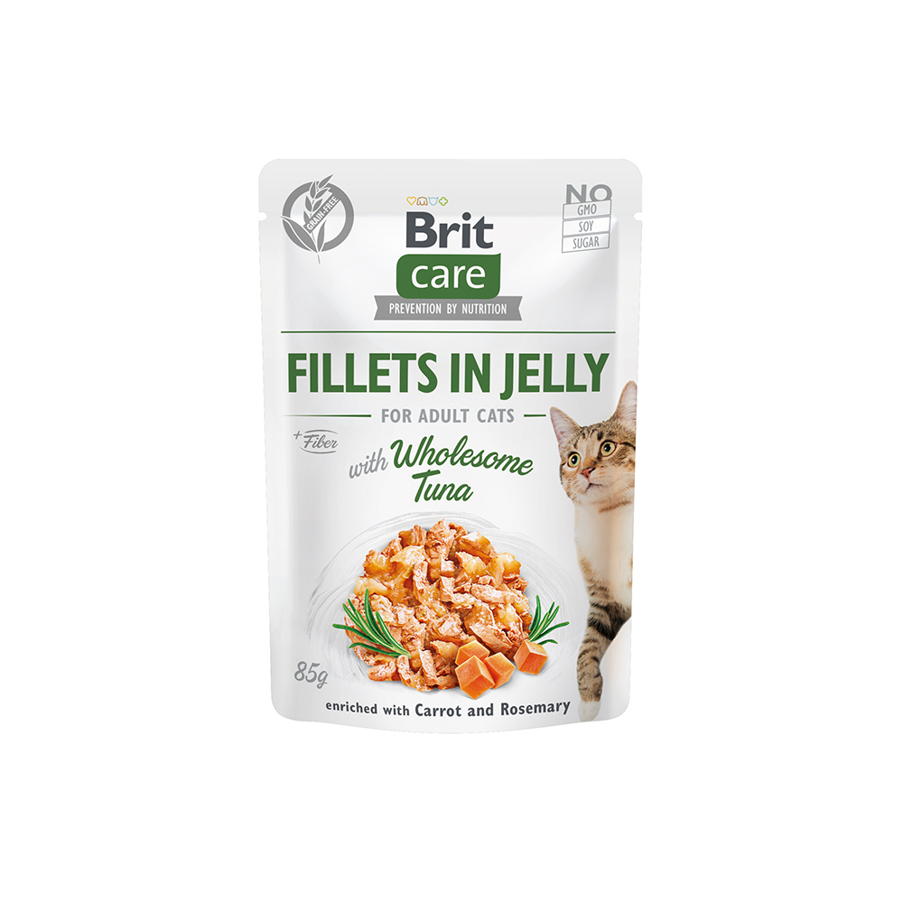 Brit Care Cat - Fillets in Jelly with Wholesome Tuna