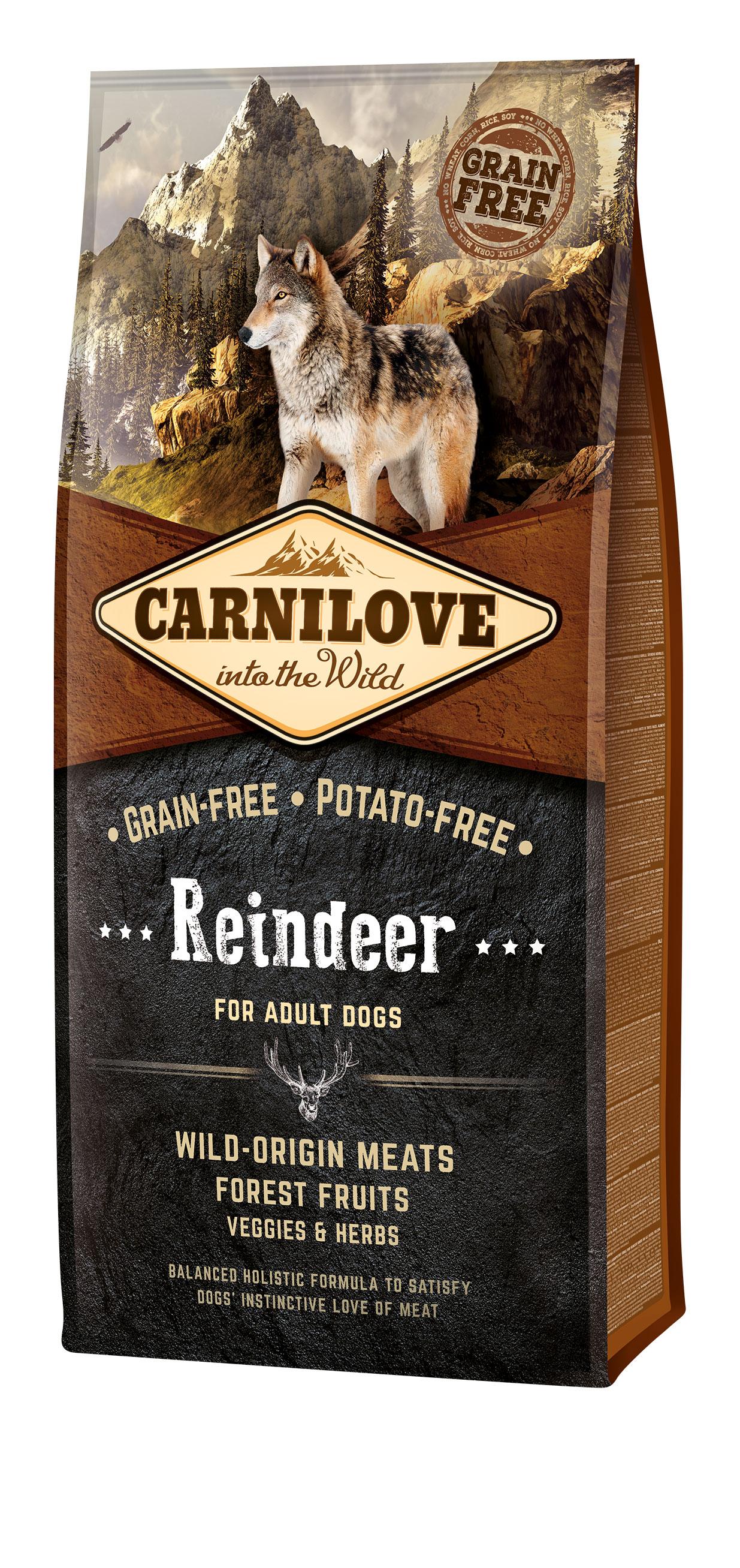 Carnilove Hund - Reindeer ausgewachsene Hunde