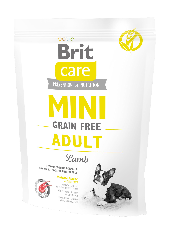 Brit Care Mini - Grain Free Adult Lamm