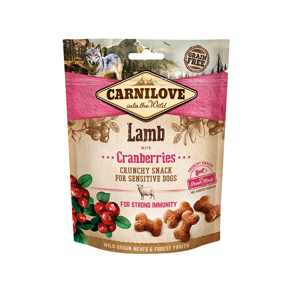Carnilove Hund Crunchy Snack – Lamb with Cranberries
