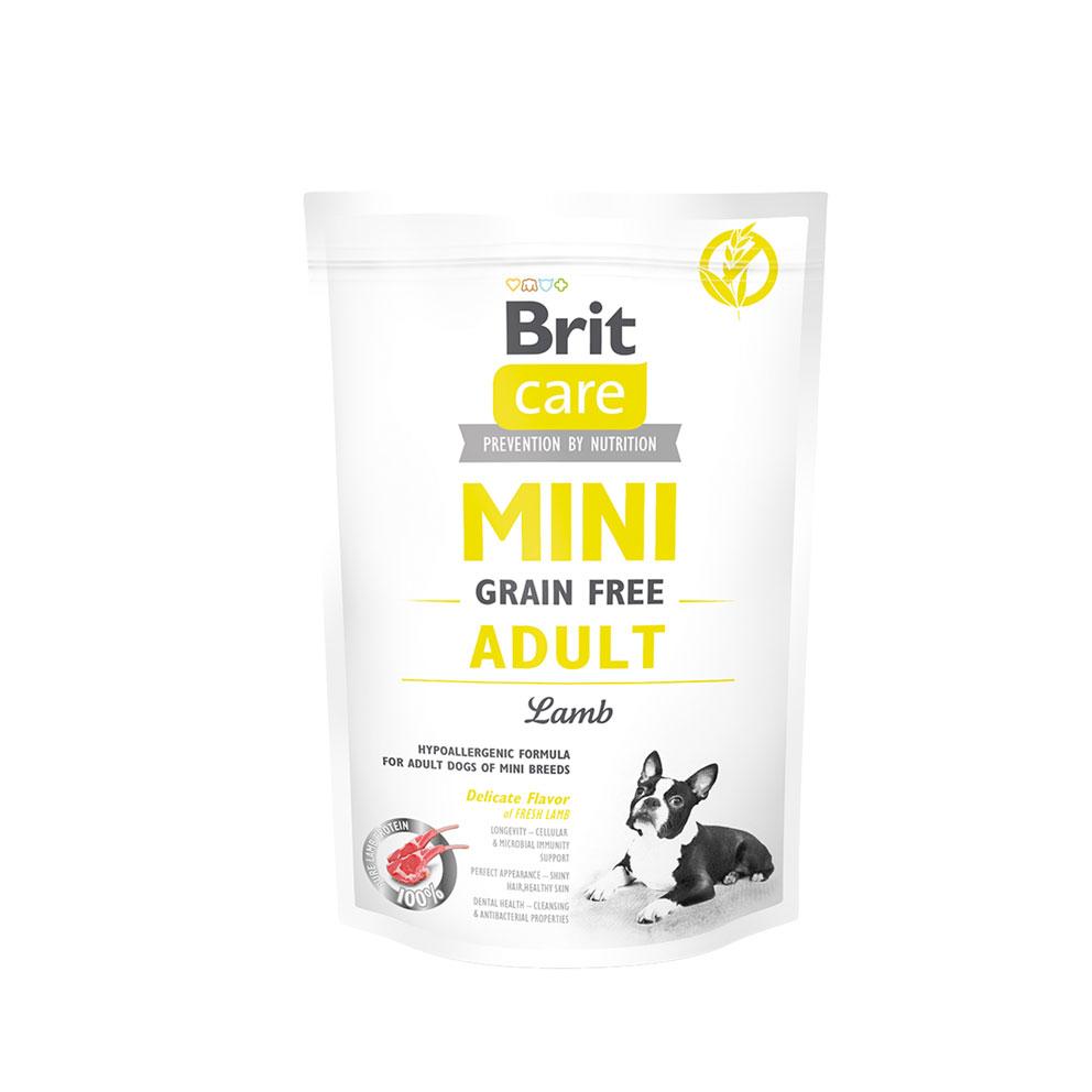 Probe Brit Care Mini - Grain Free Adult Lamm