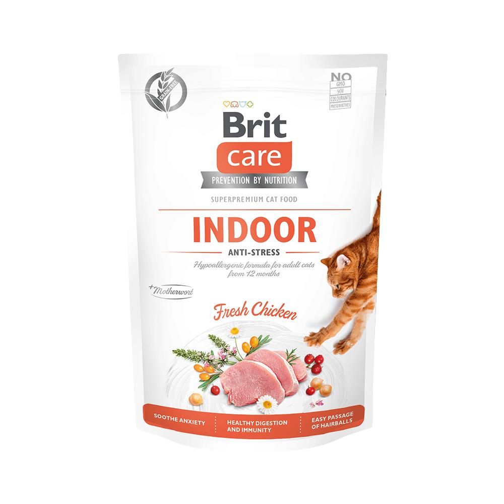 Probe Brit Care Cat Grain-Free - Indoor - Anti-Stress