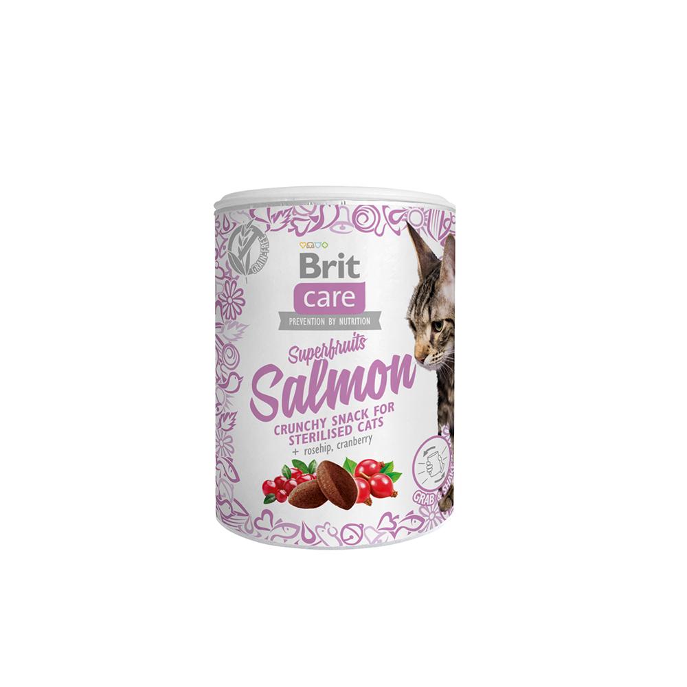 Brit Care Cat Snack - Superfruits - Salmon