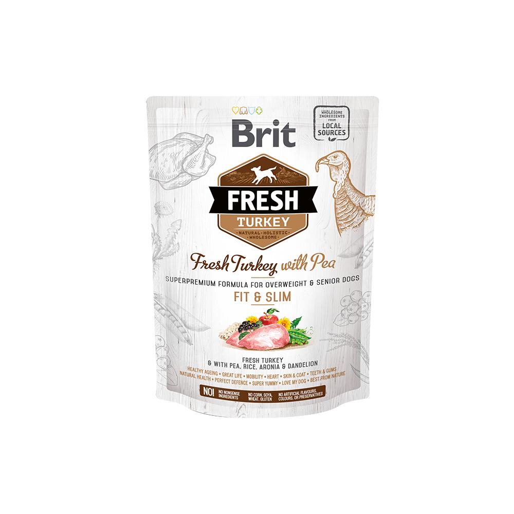 Probe Brit Fresh Hund – Overweight & Senior dogs – Turkey – Fit & Slim