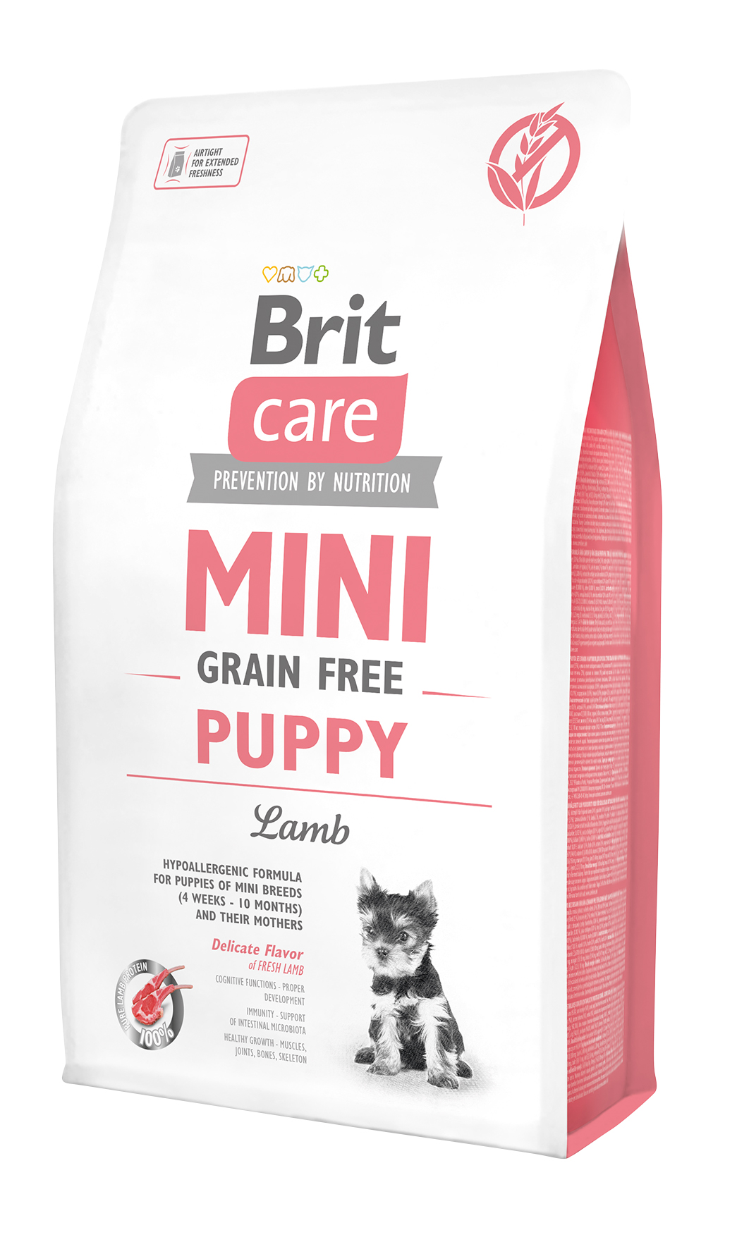 Brit Care Mini - Grain Free Puppy Lamm
