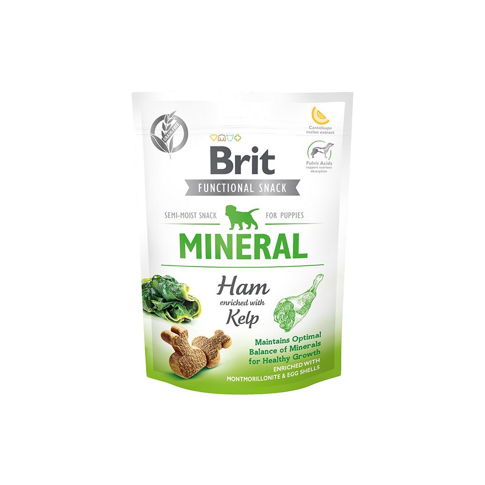 Brit - Functional Snack - Mineral Ham for Puppies - Schinken + Kelp