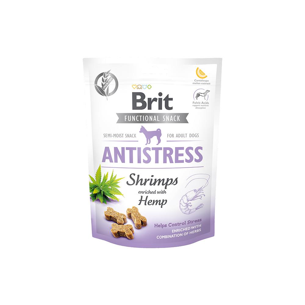 Brit - Functional Snack - Antistress Shrimps - Shrimps + Hanf
