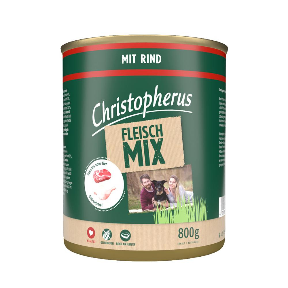 Christopherus – Fleischmix mit Rind (6er Pack)