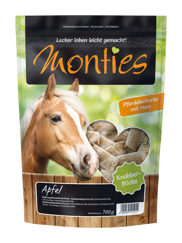 Monties - Apfel-Sticks