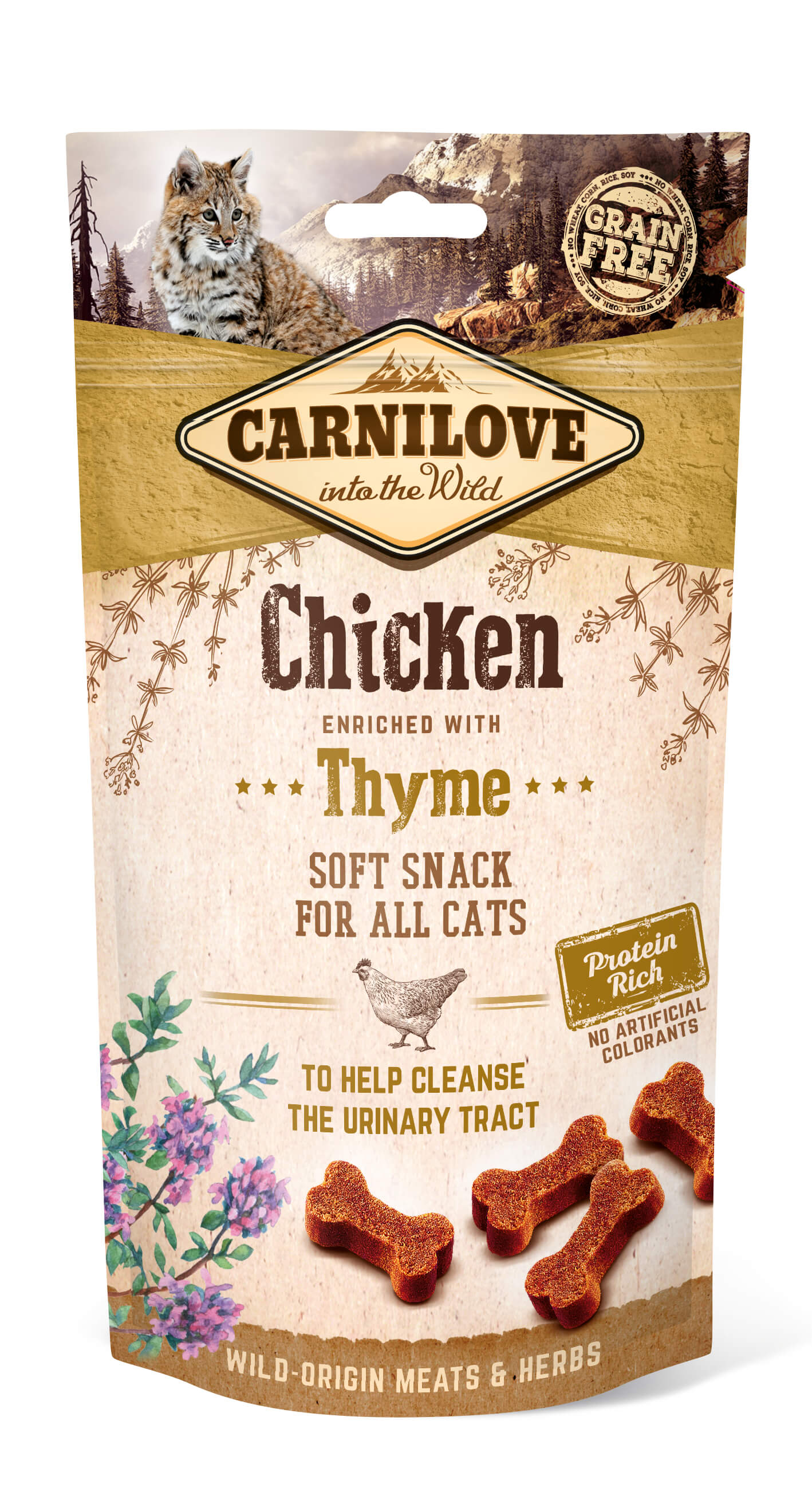 Carnilove Katze Soft Snack – Chicken with Thyme