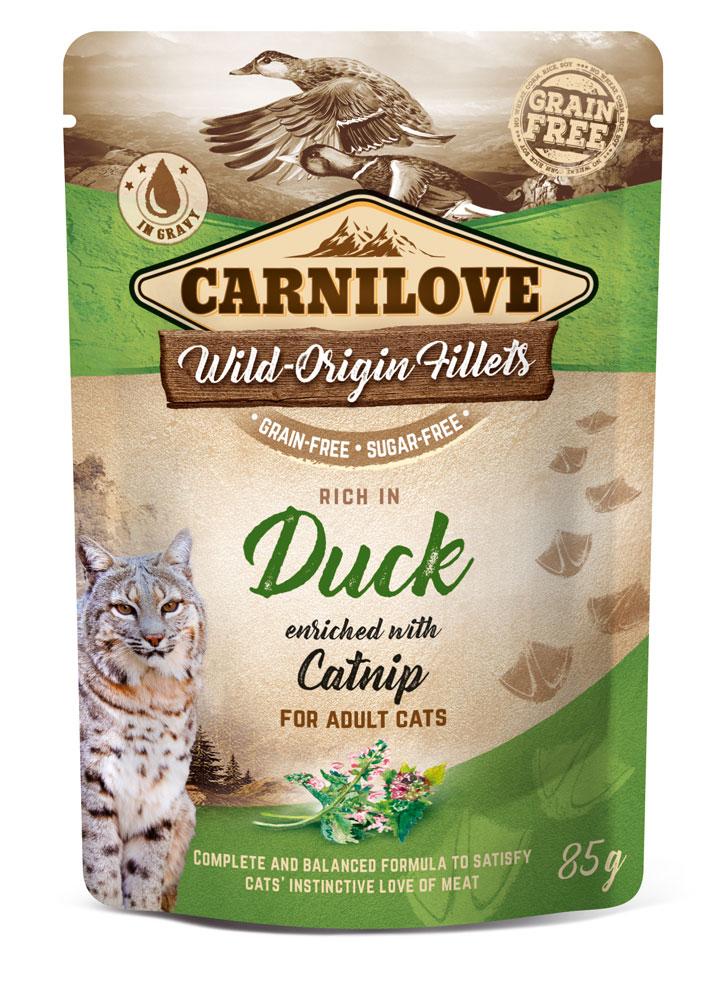 Carnilove Katze Pouch – Duck with Catnip