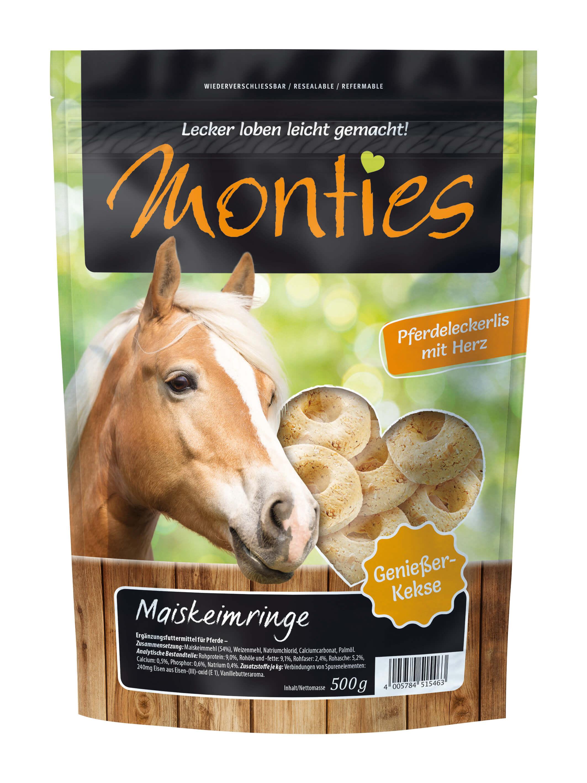Monties - Maiskeimringe