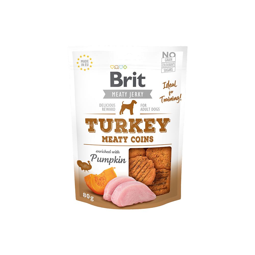 Brit Meaty Jerky - Turkey - Meaty Coins