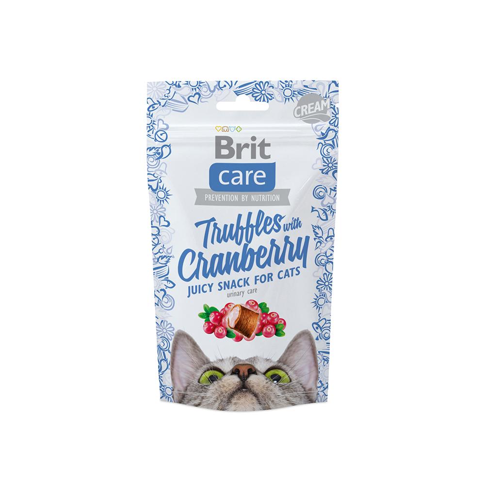 Brit Care Cat Snack - Truffles - Cranberry