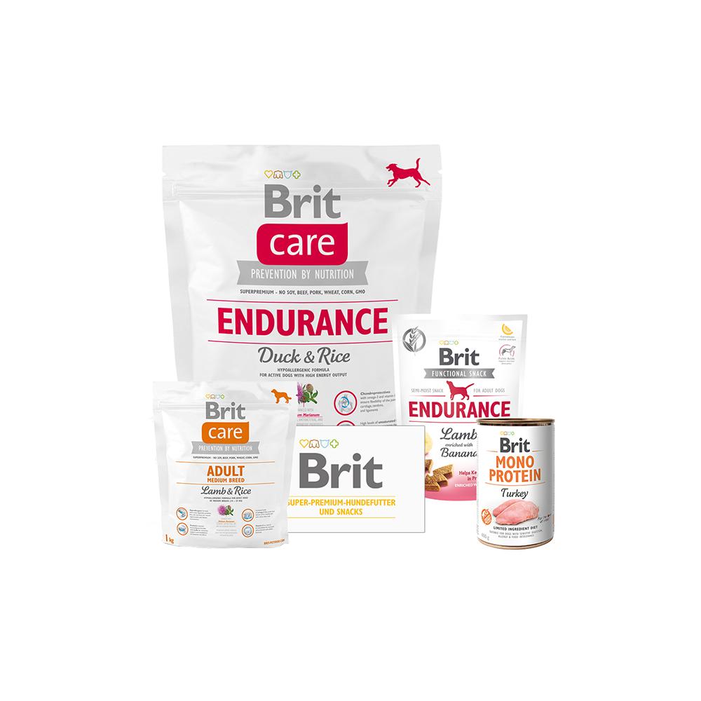 Brit Care Dog - Probierpaket - Endurance - Duck & Rice