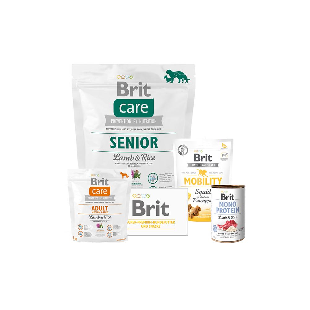 Brit Care Dog - Probierpaket - Senior - Lamb & Rice