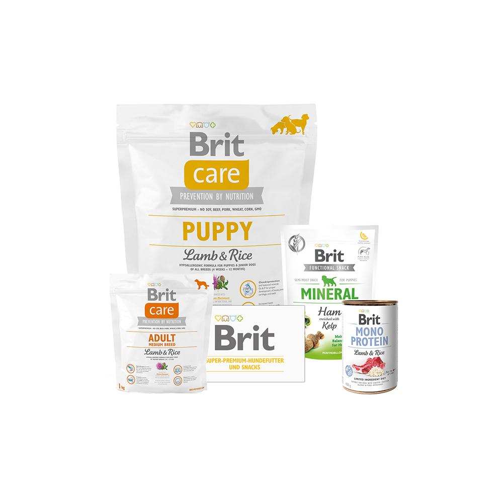 Brit Care Dog - Probierpaket - Puppy - Lamb & Rice