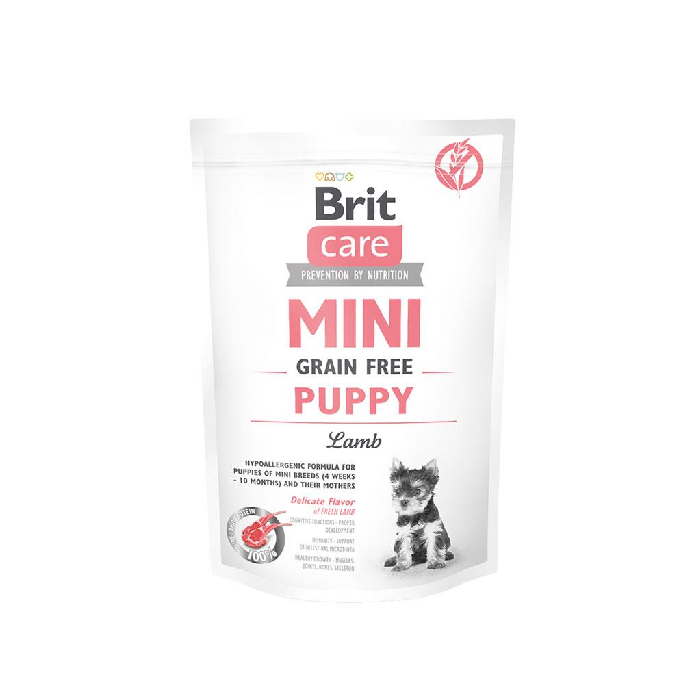 Probe Brit Care Mini - Grain Free Puppy Lamm