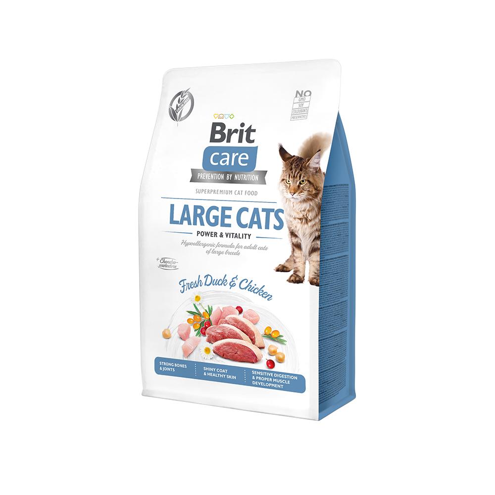 Brit Care Cat Grain-Free - Large cats - Power & Vitality