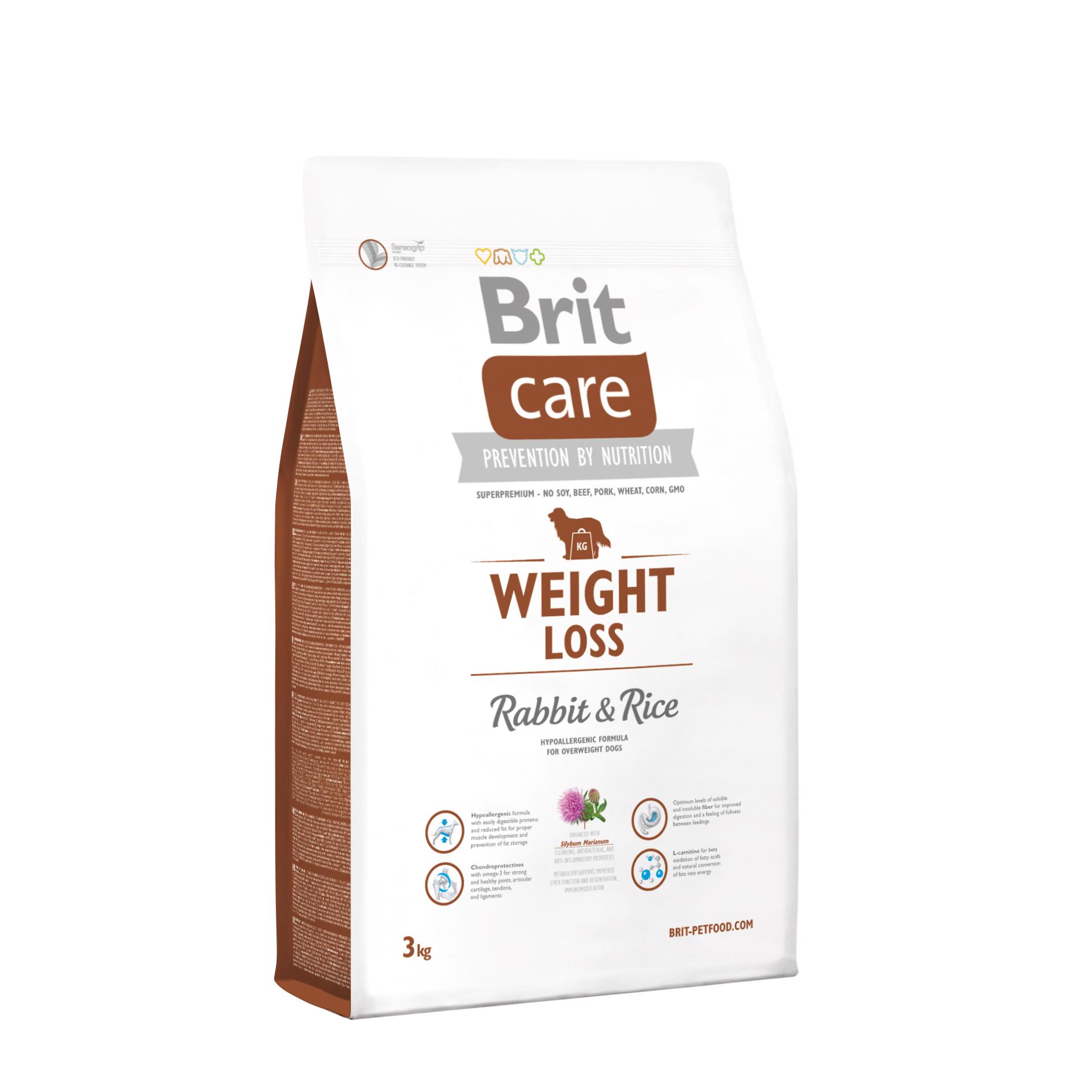 Brit Care Dog - Weight Loss - Rabbit & Rice
