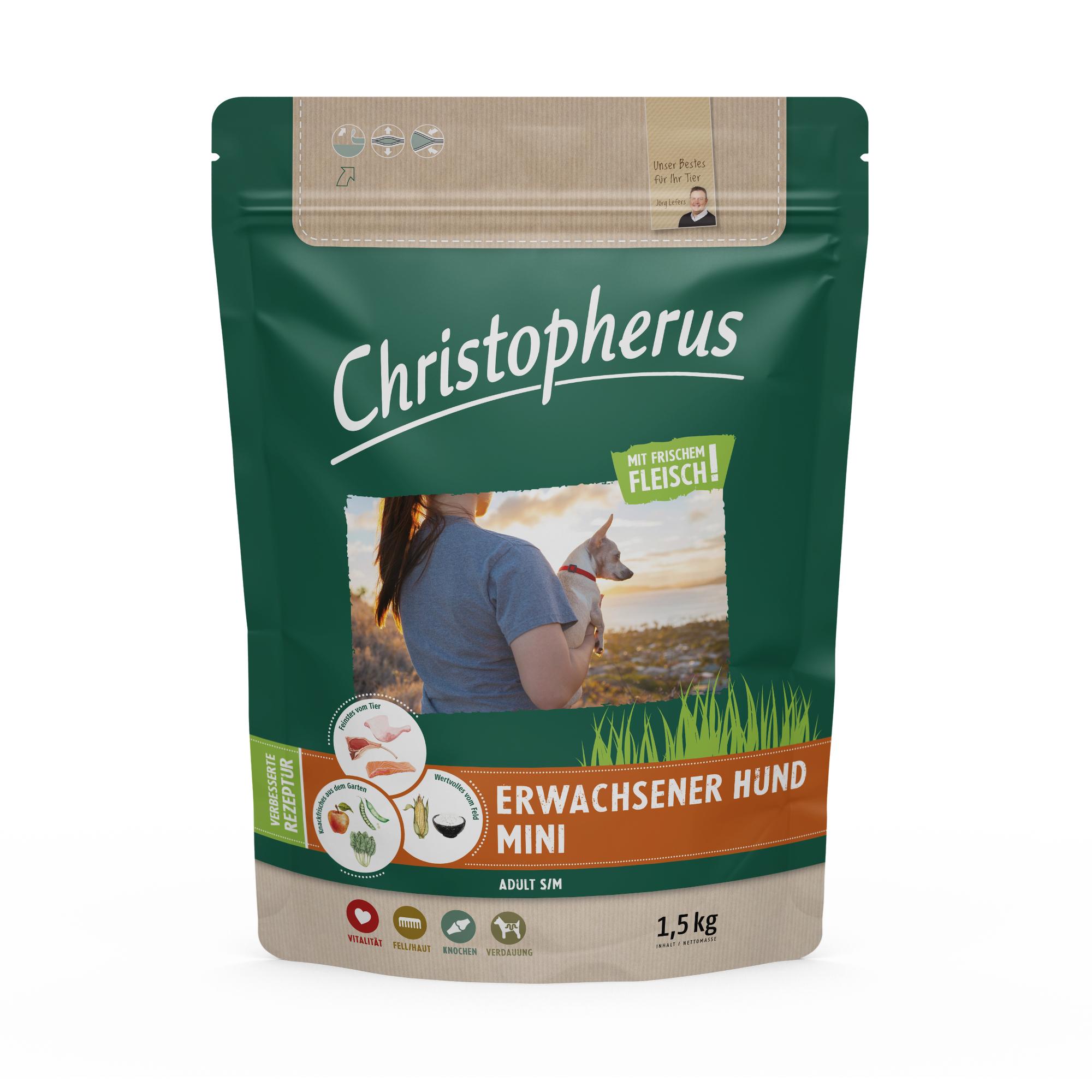 Christopherus – Erwachsener Hund Mini