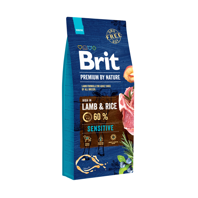 Brit Premium by Nature – Sensitive Lamb & Rice