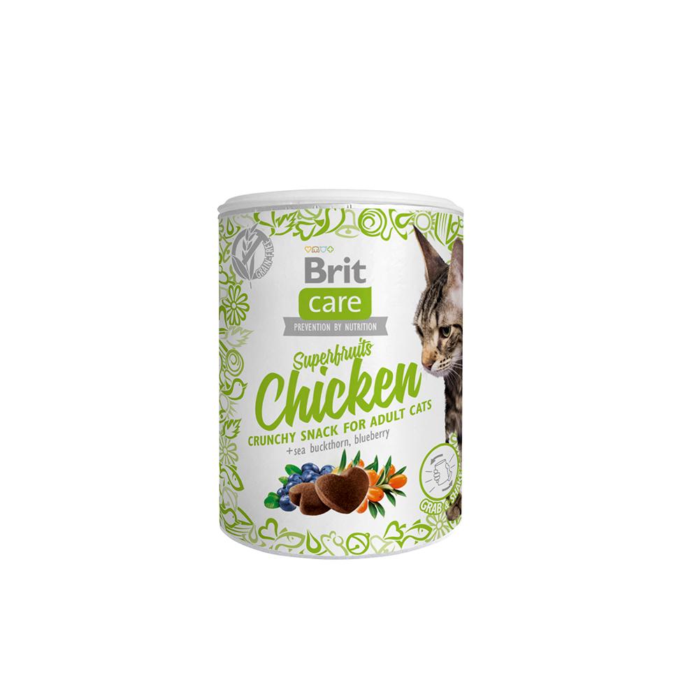 Brit Care Cat Snack - Superfruits - Chicken