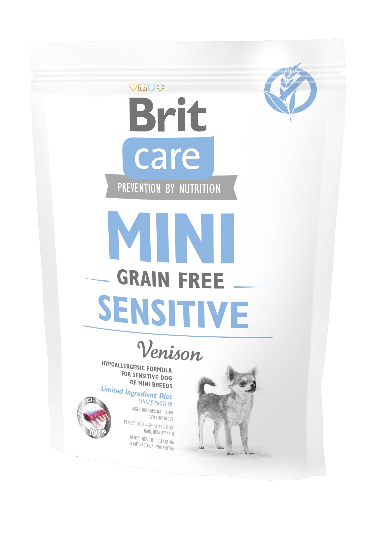 Brit Care Mini - Grain Free Sensitive Hirsch