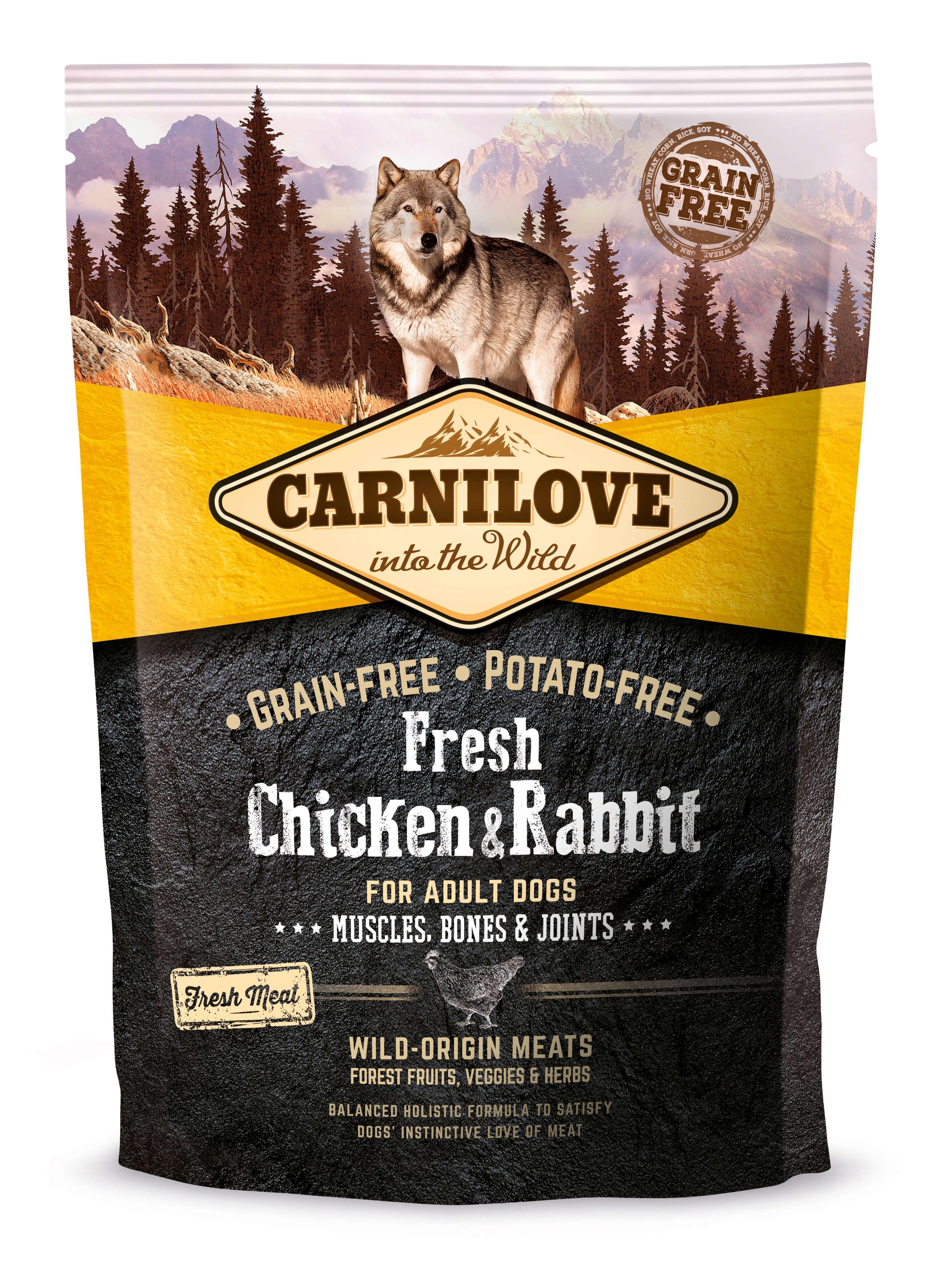 Carnilove Hund Fresh – Chicken & Rabbit