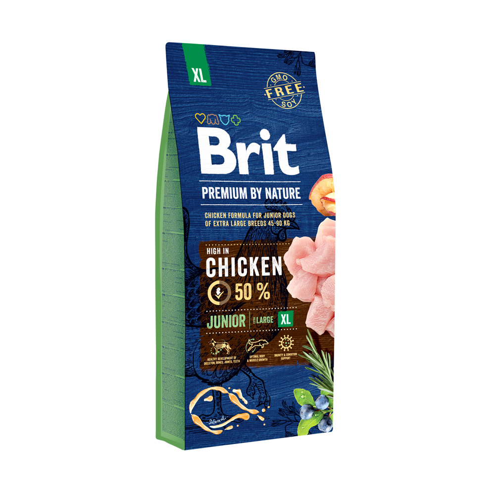 Brit Premium by Nature – Junior XL - 15kg
