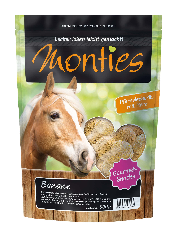 Monties - Banane-Snacks