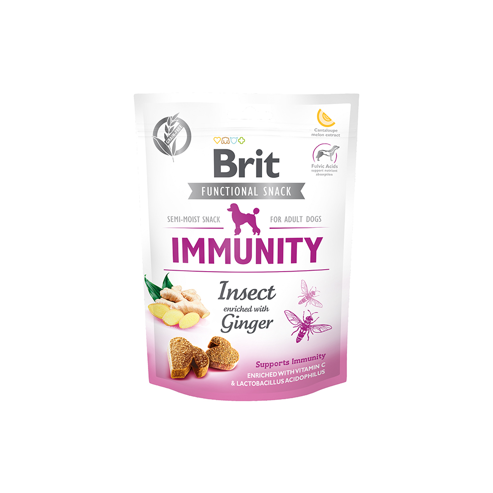 Brit - Functional Snack - Immunity Insect - Insekten + Ingwer