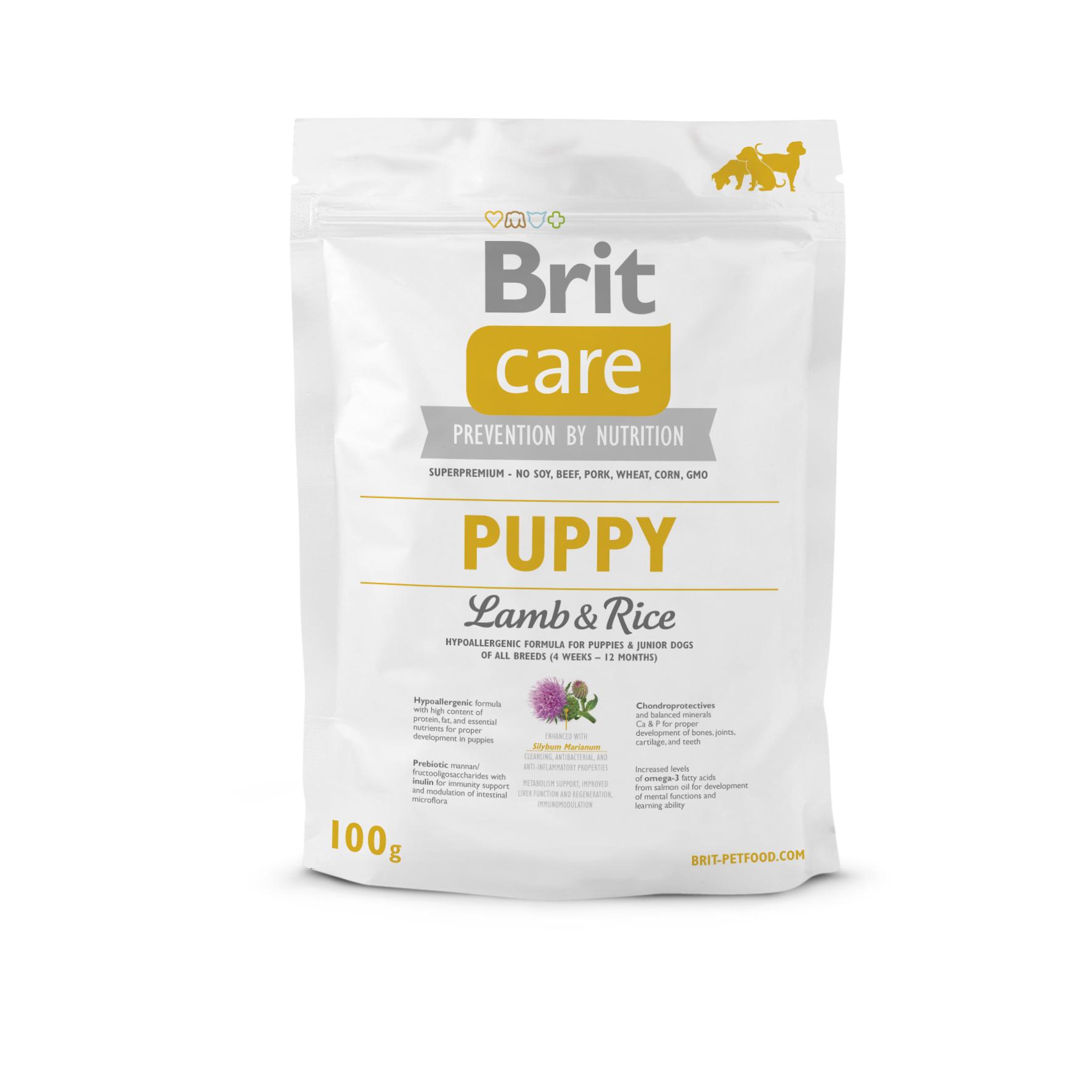 Probe Brit Care Dog - Puppy Lamb & Rice