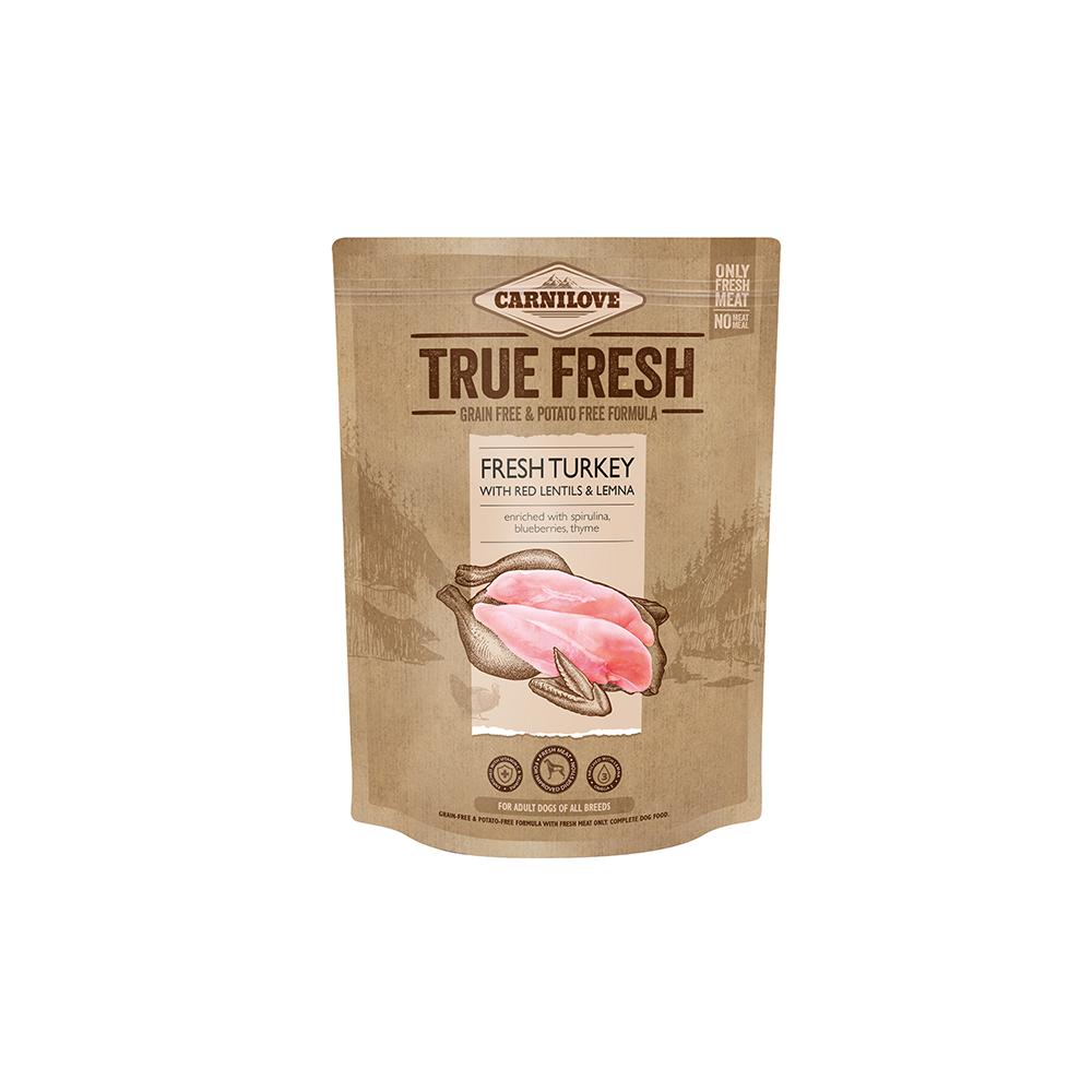 Probe Carnilove Hund True Fresh – Fresh Turkey