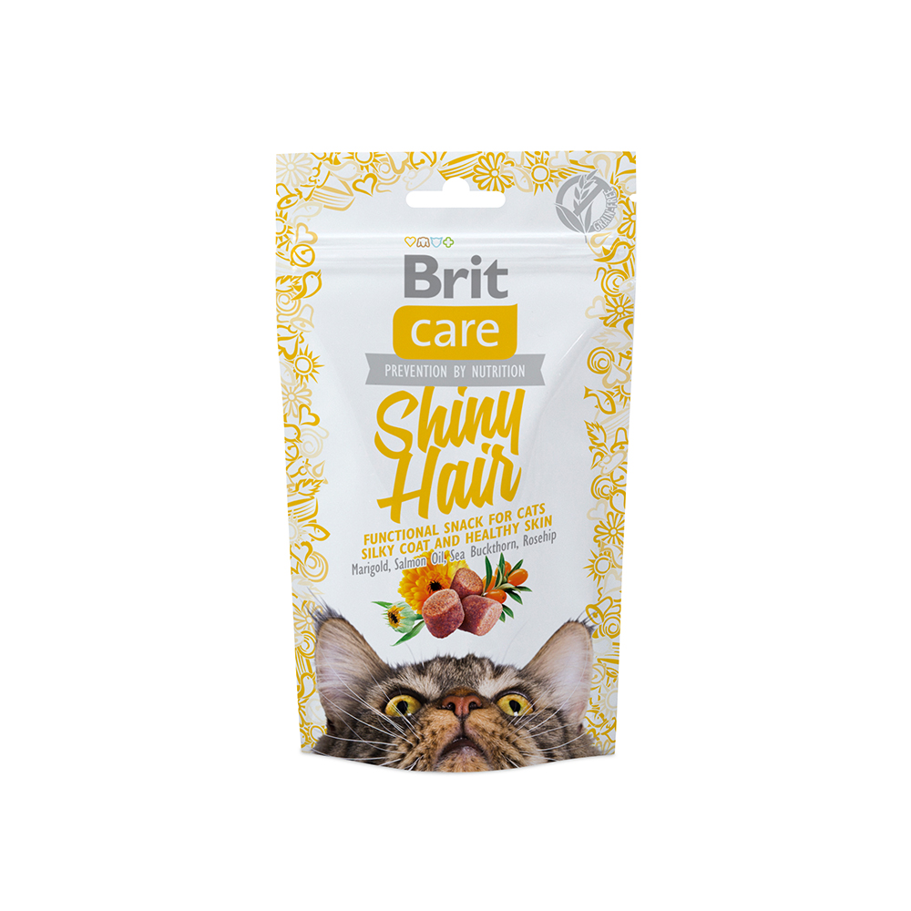 Brit Care Cat Snack - Shiny Hair