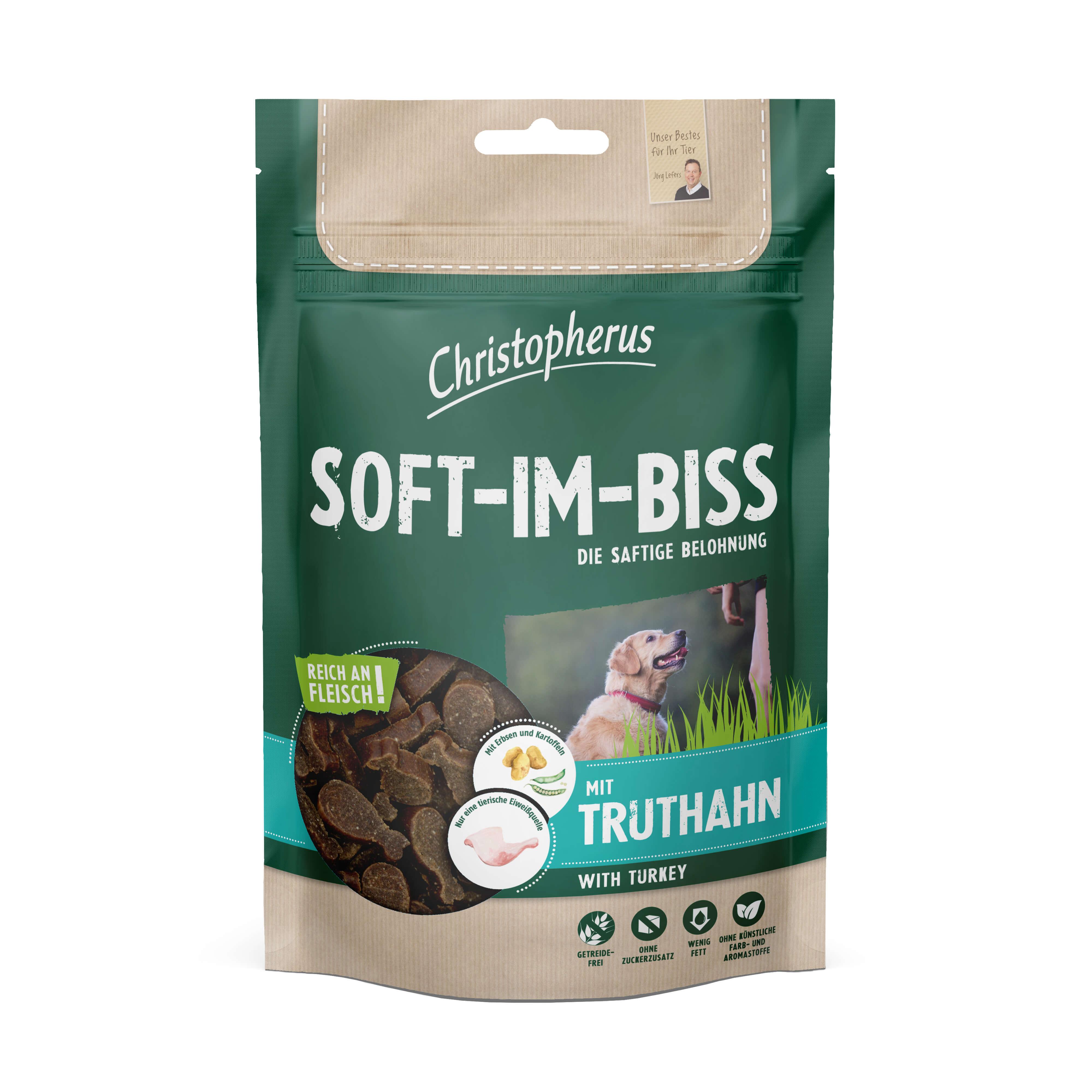 Christopherus – Soft-Im-Biss Truthahn