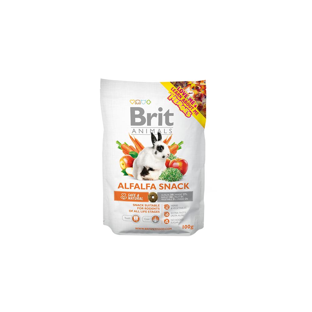 Brit Animals - Alfalfa Snack (Für Nagetiere)